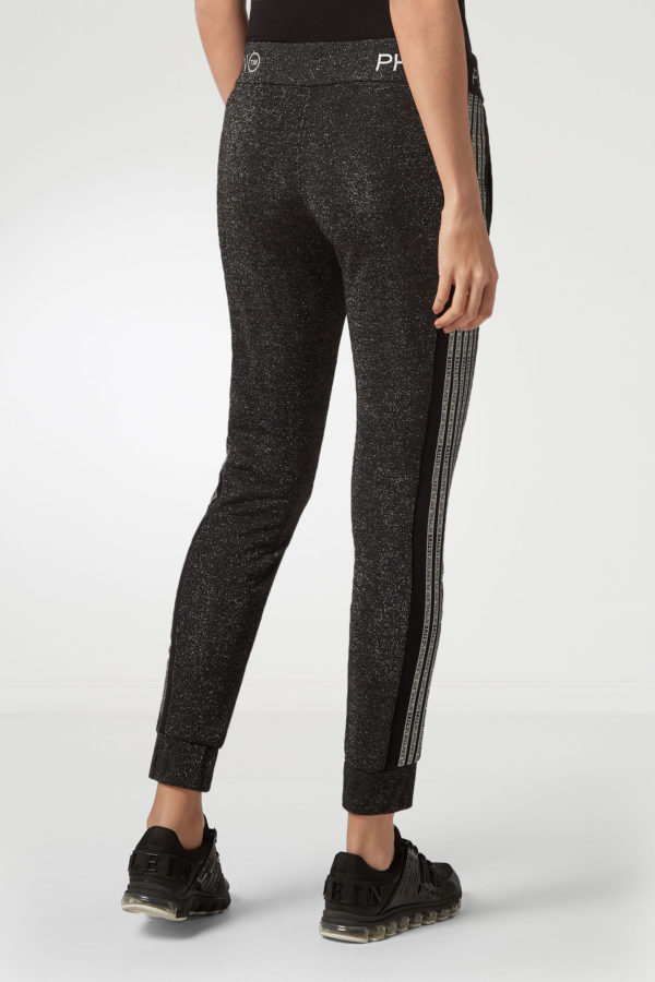 Темно-серые зауженные брюки Philipp Plein