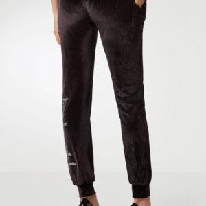 Черные брюки с надписью Philipp Plein
