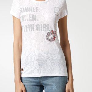 Белая узорная футболка с дизайном Philipp Plein