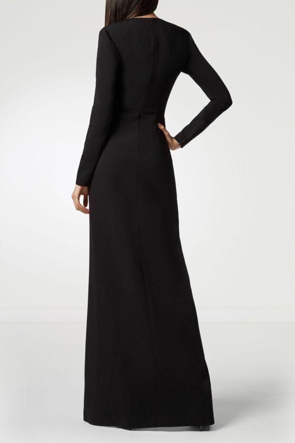 Асимметричное комбинированное платье с декором Philipp Plein