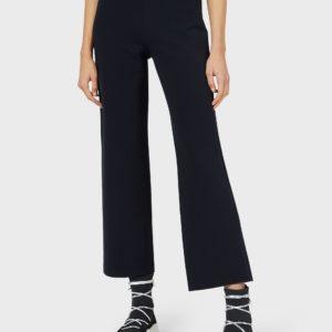 Прямые брюки из джерси в османском стиле EMPORIO ARMANI