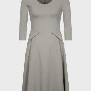 Платье из стрейчевой ткани Milano EMPORIO ARMANI