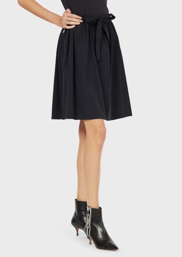 Нейлоновая юбка Travel Essential с отделкой EMPORIO ARMANI