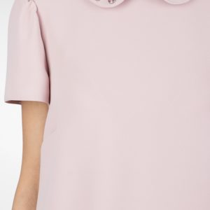 Розовое платье-торсо Red Valentino