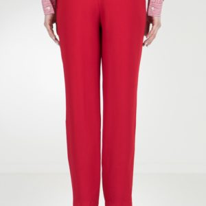 Красные брюки-джоггеры Red Valentino