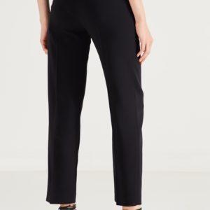 Черные укороченные брюки Red Valentino